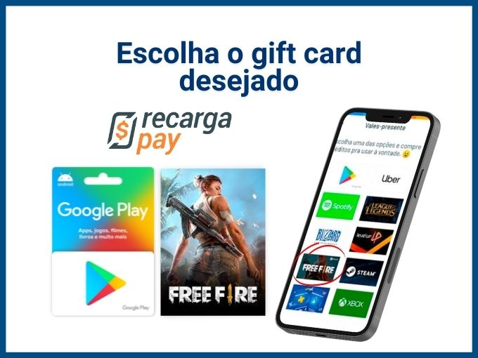 Free Fire Max: Gift cards
